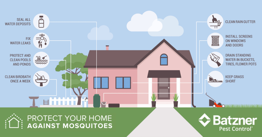 How to protect your home from mosquitoes in Wisconsin - Batzner Pest Control